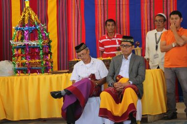 ARMM Assemblyman Odin Sumagayan wear Malong during special occasions